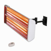 EnerG+™ HEA-21531 Wall Mounted Electric Infrared Outdoor Heater in Silver