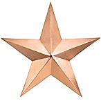 Good Directions Medium Star in Polished Copper