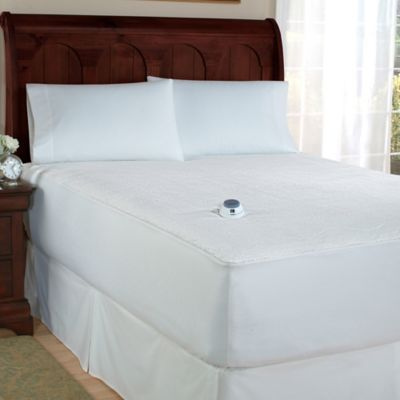 Theic Microplush Electric Warming Twin Mattress Pad