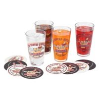 Busted Knuckle Garage Pint Glasses (Set of 4)