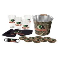 Mossy Oak® 15-Piece Pint Glass and Bucket Set