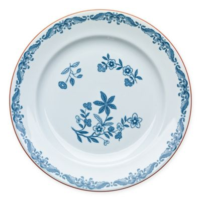 Rörstrand Ostindia 10.6-Inch Porcelain Dinner Plate in White/Blue  sc 1 st  Bed Bath \u0026 Beyond & Buy Blue White Porcelain Dinner Plates from Bed Bath \u0026 Beyond