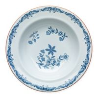 Rörstrand Ostindia 9.5-Inch Porcelain Rim Soup Bowl in White/Blue