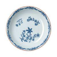 Rörstrand Ostindia 8.6-Inch Porcelain Pasta Bowl in White/Blue