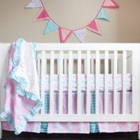 Pam Grace Creations Posh in Paris 4-Piece Crib Bedding Set
