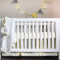 Pam Grace Creations Argyle Giraffe 4-Piece Crib Bedding Set
