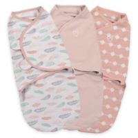 Summer Infant® SwaddleMe® Small 3-Pack Feathers Adjustable Infant Wrap Set