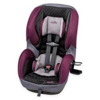 EvenfloR SureRideTM LX Convertible Car Seat In Purple Black