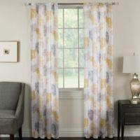 Brinkley 63-Inch Grommet Top Room Darkening Window Curtain Panel in Raffia