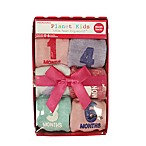Planet Kids Size 0-6M 6-Pack Primary Months Socks