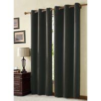 VCNY McKenzie Juvi 108-Inch Room-Darkening Grommet Top Window Curtain Panel in Grey