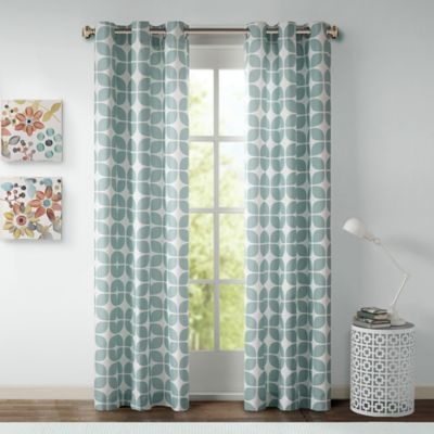 Room Decor U003e Intelligent Design Lita 63 Inch Grommet Top Window Curtain  Panel Pair In