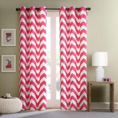 Intelligent Design Libra 84 Inch Room Darkening Grommet Top Window Curtain Panel Pair In