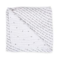 Bebe au Lait® Muslin Snuggle Blanket in Love and Luna