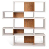 Tema Furniture Inc. London Composition 2010-002 Bookcase in Cork/White
