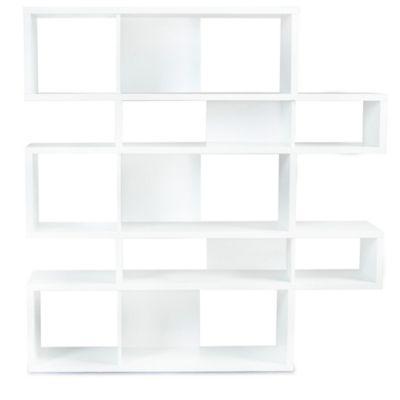 tema furniture inc london composition bookcase in whitewhite