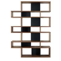 Tema Furniture Inc. London Composition Bookshelf in Black
