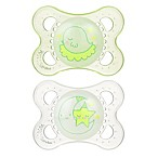 MAM Night 2-6M 2-Pack Glow in the Dark Pacifiers