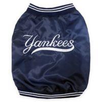 MLB® Medium New York Yankees Pet Dugout Jacket