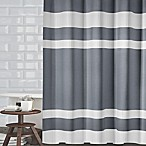 Ravello Textured Stripe 72-Inch Shower Curtain in Grey