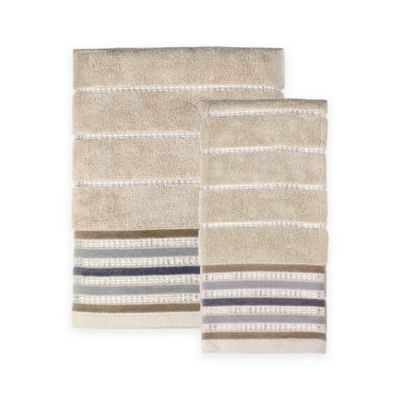 Buy Striped Bath Towels From Bed Bath Beyond
