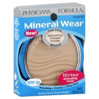 Physicians Formula Mineral Wear Talc-Free Mineral Airbrush Pressed Powder SPF 30 in Creamy Natural