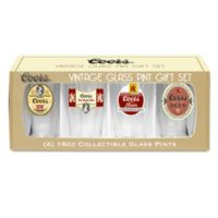 Coors Retro Variety Pint Glasses (Set of 4)