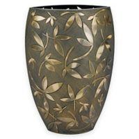 Badash Fiji Classic 12-Inch Vase in Bronze/Gold