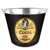 """Coors """"Golden Export Lager"""" 5 qt. Metal Bucket"""