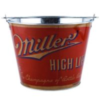 Miller High Life Retro Full Wrap 5-Quart Bucket