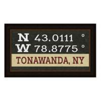 Tonawanda Coordinates Framed Wall Art