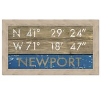 Newport Rustic Coastal Framed Wall Art
