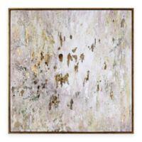 Uttermost Golden Raindrops Modern Abstract Wall Art