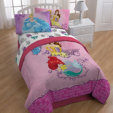 Princess Friendship Adventures Twin Full Comforter Bed
