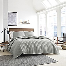 Kenneth Cole Granite Coverlet In Neutral Bed Bath Beyond