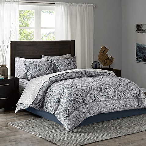 Tanami Comforter Set In Blue Grey Bed Bath Amp Beyond