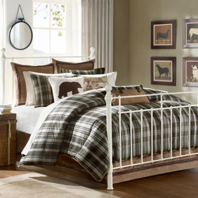 Buy Brown And Blue Comforter Sets From Bed Bath Beyond - Blue and brown comforter sets