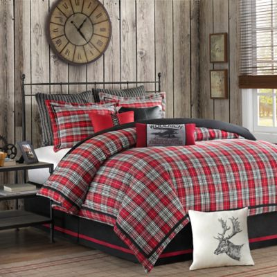 buy plaid comforters from bed bath & beyond