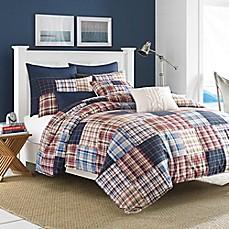Nautica® Blaine Comforter Set In Red