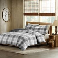 Woolrich Woodsman Full/Queen Comforter Set in Grey