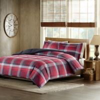 Woolrich Terrytown King Comforter Set in Red
