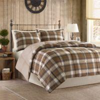 Woolrich Lumberjack Full/Queen Comforter Set in Brown