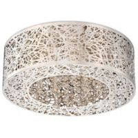 George Kovacs® Hidden Gems LED Flush Mount with Chrome Finish
