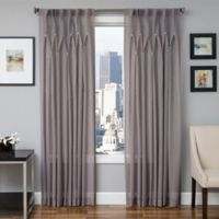 Softline Enchantment 84-Inch Sheer Back Tab Window Curtain Panel in Silver
