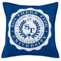 Southern Tide® Skipjack Chino University Throw Pillow in Blue