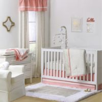 The Peanut Shell® Confetti 4-Piece Crib Set in Gold/Coral