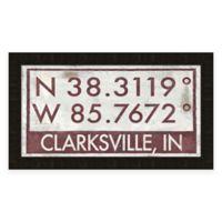 Clarksville Coordinates Framed Giclee Wall Art