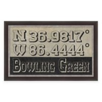 Bowling Green Coordinates Framed Giclee Wall Art