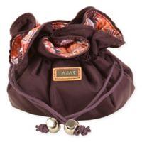 Hadaki Jewelry Sack in Plum Perfect