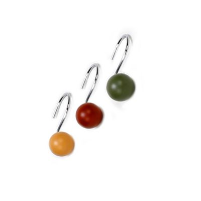 Tranquility Shower Curtain Hooks (Set Of 12)
